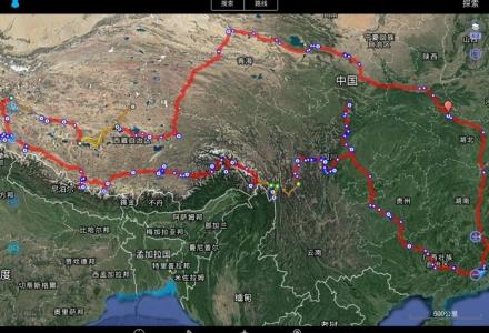 2017冬季单人单车川滇藏穿越之旅:浪都德贡公路丙察察阿里大环线